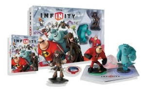 Nintendo Wii Box Disney Infinity Starter Pack