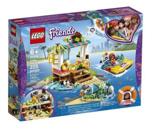 Lego Friends - Missão De Resgate De Tartarugas 41376