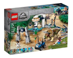 Lego Jurassic World - Fúria Do Triceratops 75937