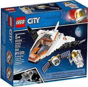 Lego City - Missão De Assistência A Satélite 60224