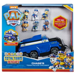 Patrulha Canina Veiculo Total Team Police Cruiser Chase