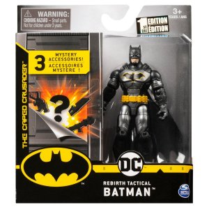 Boneco Articulado Dc Comics 10 Cm Batman Tactical Suit