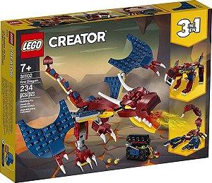 Lego Creator - Dragão Do Fogo 31102