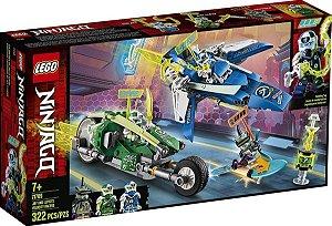 Lego Ninjago - Os Veículos De Corrida 71709