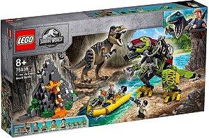 Lego Jurassic World - T.rex Vs Robô Dinossauro 75938