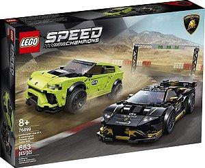 Lego Speed Champions - Lamborghini Urus ST-X & Lamborghini Huracán Super Trofeo EVO 76899