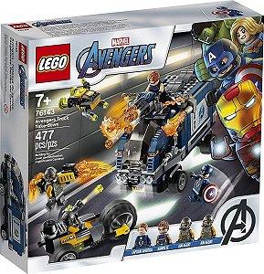 Lego Marvel - Ataque De Caminhão Dos Vingadores 76143