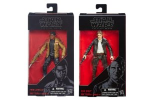 Bonecos Star Wars The Force Awakens The Black Series - Han Solo e Finn Jakku