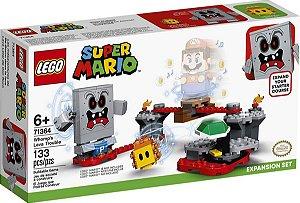 Lego Super Mario - Revés Das Lavas Do Esmagão 71364