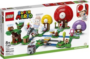 Lego Super Mario - Caça Ao Tesouro De Toad 71368