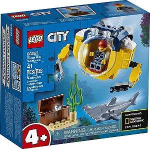 Lego City - Mini-submarino Oceânico 60263