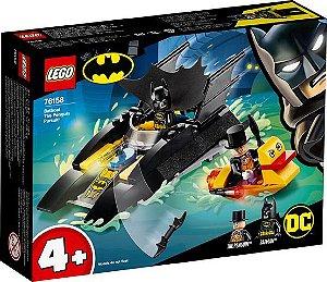 Lego Dc Comics - Perseguição De Pinguim Em Batbarco! 76158