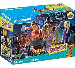 Playmobil 70366 Scooby-doo! Aventura No Caldeirão Das Bruxas