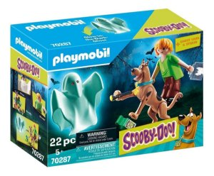Playmobil 70287 - Scooby & Salsicha Com Fantasma