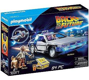 Playmobil 70317 - De Volta Para O Futuro Delorean