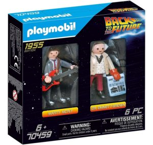 Playmobil 70459 - Marty Mcfly E Dr. Emmett Brow