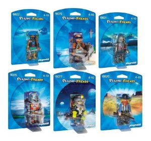 Playmobil Friends Masculino Pack Com 6