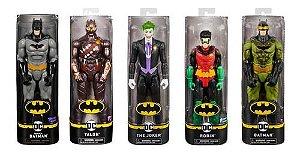 Pack Com 5 Bonecos De 30 Cm Batman