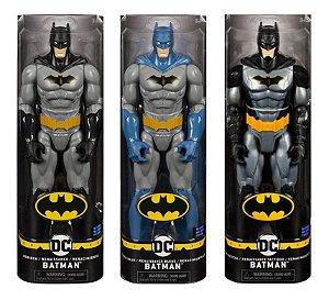 Pack Com 3 Bonecos Articulados Batman Renascimento 30 Cm