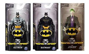 Pack Com 3 Bonecos Dc Comics Batman