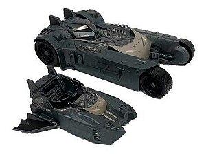 Veículo 2 Em 1 Dc Comics Batman - Batmóvel