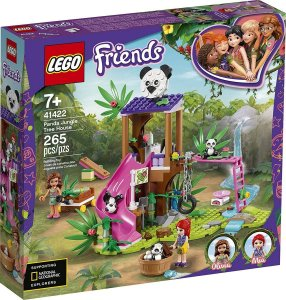 Lego Friends - Casa Do Panda Na Árvore Da Selva 41422