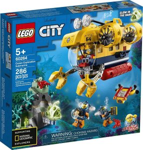 Lego City - Submarino De Exploração Do Oceano 60264