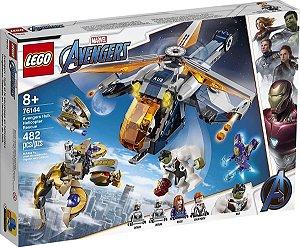 Lego Marvel - Resgate De Helicóptero Dos Vingadores 76144