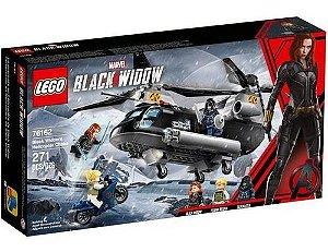 Lego - Perseguição De Helicóptero Da Viúva Negra 76162