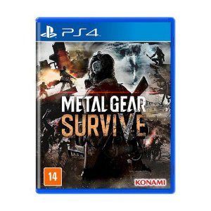 Game - Metal Gear Survive PS4