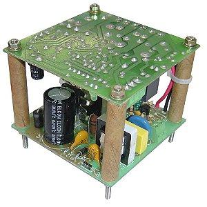 MINI FONTE NOBREAK F. R. ENT. 85 A 265V S. 15VDC / 2A 30W BATERIA 13,8V SEM CAIXA PCI 600.0048+600.0493