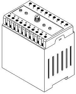 FONTE FULL RANGE ENTRADA 85 A 265VAC SAÍDA 5VDC/ 3A 5VDC/ 1A, ±15VDC / 1A 50W COM CAIXA PCI 600.0062