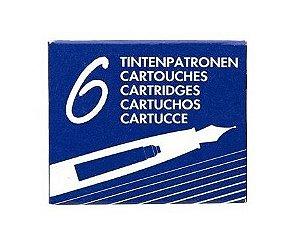 Cartucho de Tinta Europeu Padrão Internacional c/6