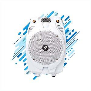 Caixa de Som Amplificadora Goldentec 100W GT Extreme V2 - Branca