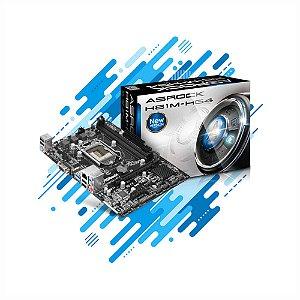 Placa-Mãe AsRock H81M-HG4 LGA 1150 com D-Sub, HDMI, USB 3.1