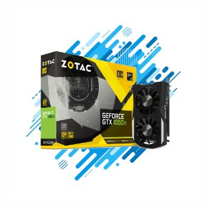 Placa de Video Zotac GTX 1050TI OC EDITION 4GB DDR5 128BIT CUDA CORES DVI HDMI Gamer