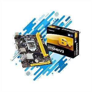 PLACA MÃE BIOSTAR H110MHV3 LGA 1151 HDMI USB DDR3 SUPORTA 6th GERAÇÃO