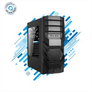 Gabinete Gamer Mid Tower 3.0 CYCLOPS BLACK EDITION Preto AEROCOOL