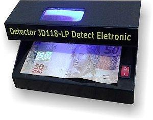 Máquina de detectar notas e documentos falsos JD118-LP Detect Eletronic - BIVOLT