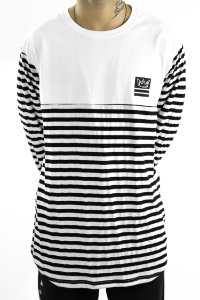 Tshirt manga longa em recorte tecido algodão/viscolycra modelo long line