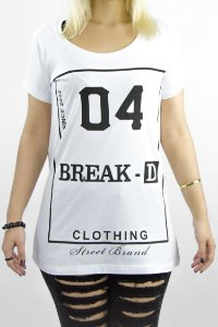Tshirt modelagem oversized com abertura lateral BREAK 04