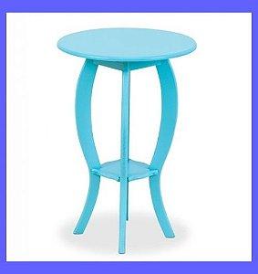 Mesa de Canto 45 cm Colorida em MDF