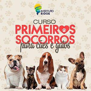 CURSO DE PRIMEIROS SOCORROS PARA CÃES E GATOS