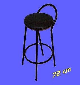 Banqueta Fixa 72 cm Metalmix