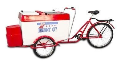 Triciclo para cachorro quente