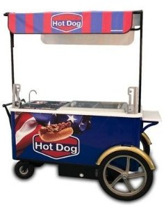 Carrinhos Gourmet para Hot Dog
