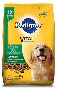 Ração Pedigree Vital - Pro Adulto Carne e Vegetais