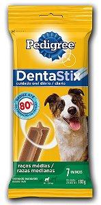 Petisco Dentastix Raças Médias Com 7 Unidades - 180gr