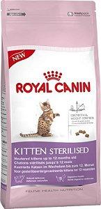 Ração Royal Canin Sterilised Kitten Para Gatos Filhotes Castrados de 6 a 12 Meses
