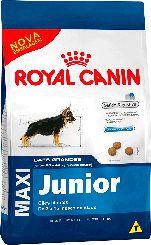 Ração Royal Canin Maxi Para Cães Filhotes de Raças Grandes - 15,0kg